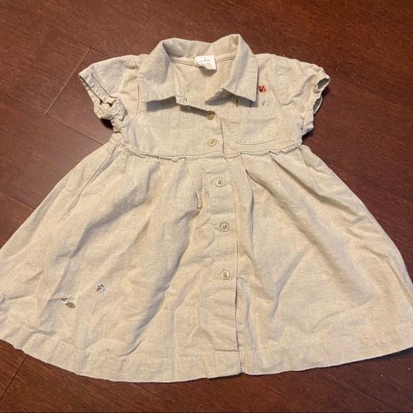 Baby Gap khaki dress